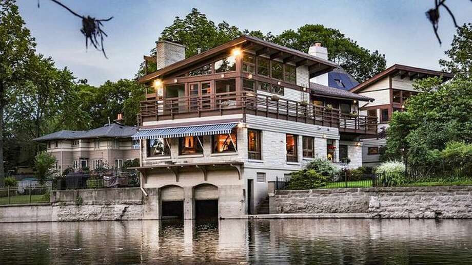 Historic Boathouse-Turned-Beautiful Mansion Floats Onto Market for $1.5M