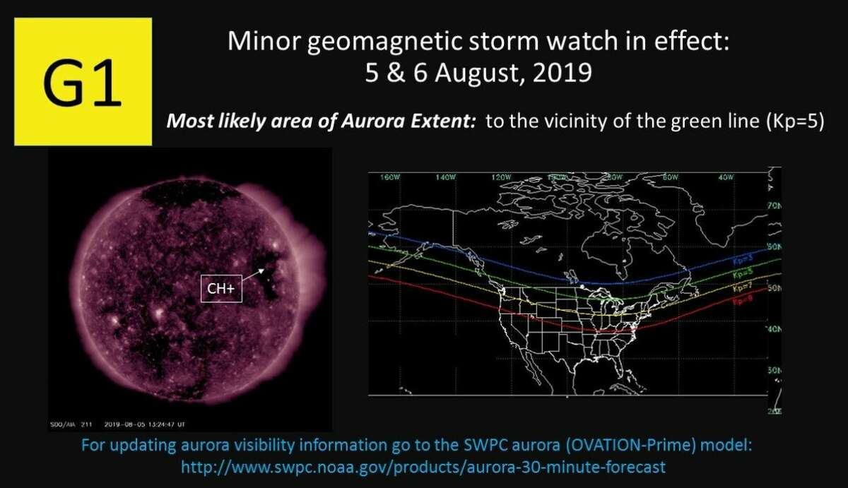 Another aurora was expected Monday night or Tuesday morning, though it's not very likely to reach the Seattle area. The aurora forecast can be seen at this link. Keep clicking for more photos of Aurora Borealis...