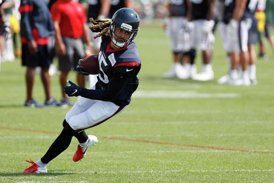 PHOTOS: Texans preseason vs. Rams  Houston Texans wide receiver Will Fuller turns the ball upfield after making a catch against the Green Bay Packers during a joint training camp practice on Monday, Aug. 5, 2019, in Green Bay, Wis. >>>See photos from the Texans' preseason finale against the Rams on Thursday, Aug. 29, 2019 ...  Photo: Brett Coomer, Houston Chronicle / Staff Photographer / © 2019 Houston Chronicle