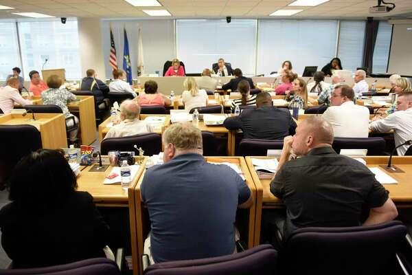 Members of the Stamford Board of Representatives