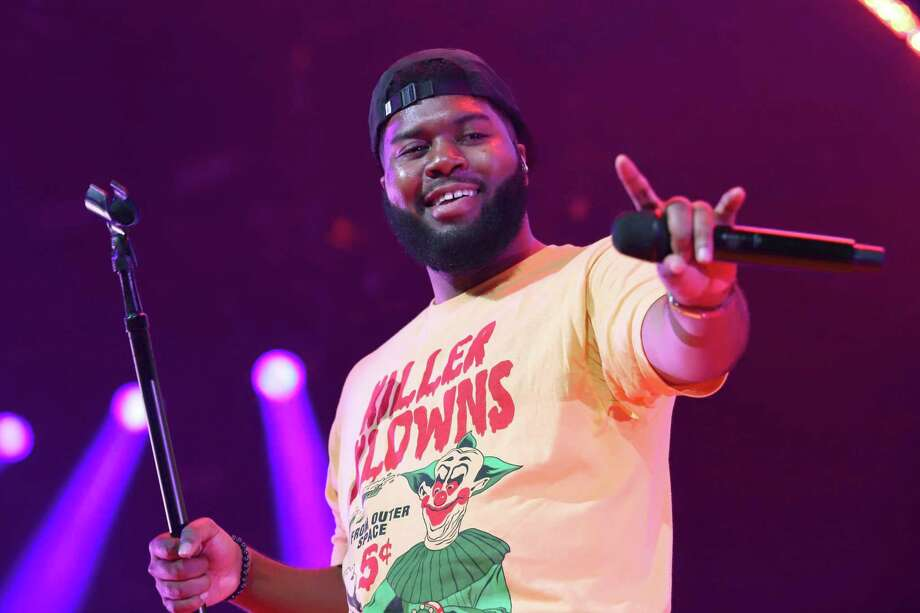Khalid announces a benefit concert for the victims of the El Paso mass shooting. Photo: Greg Allen/Invision/AP/Shutterstock