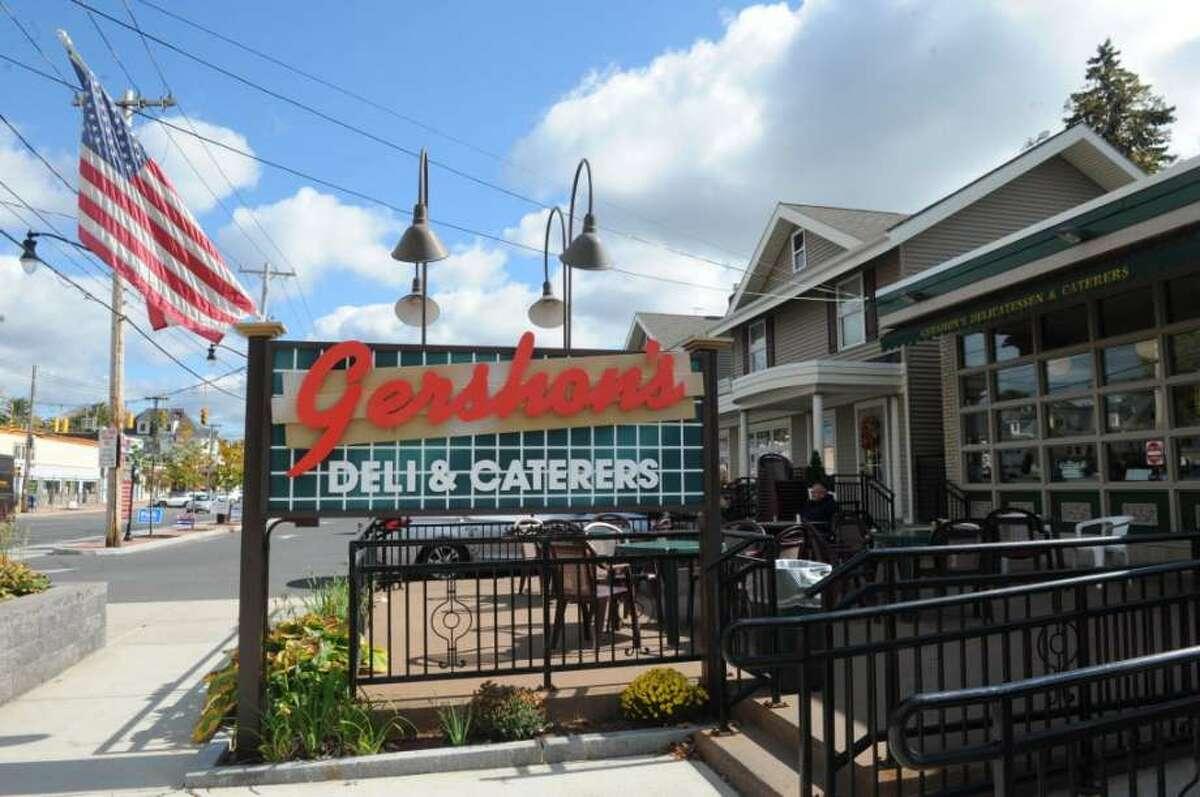 Gershon's Deli in Schenectady offers Hanukkah-appropriate foods.