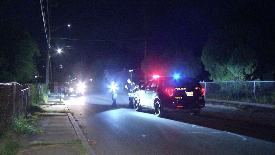 A 45-year-old male was hospitalized following a drive-by overnight shooting on the city's West Side, San Antonio police said. Photo: Ken Branca