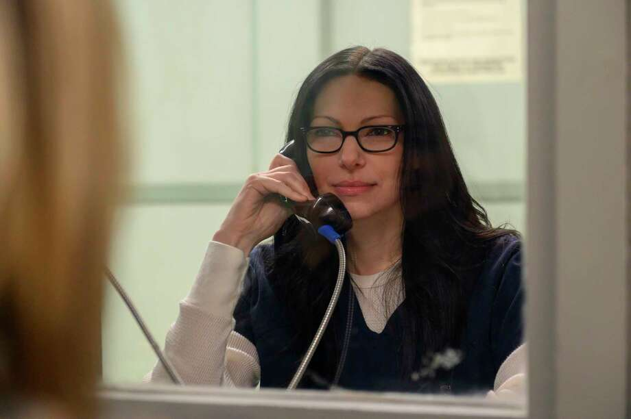 "Laura Prepon stars as Alex in ""Orange Is The New Black."" Photo: Jojo Whilden/ Netflix/ Contributed Photo"
