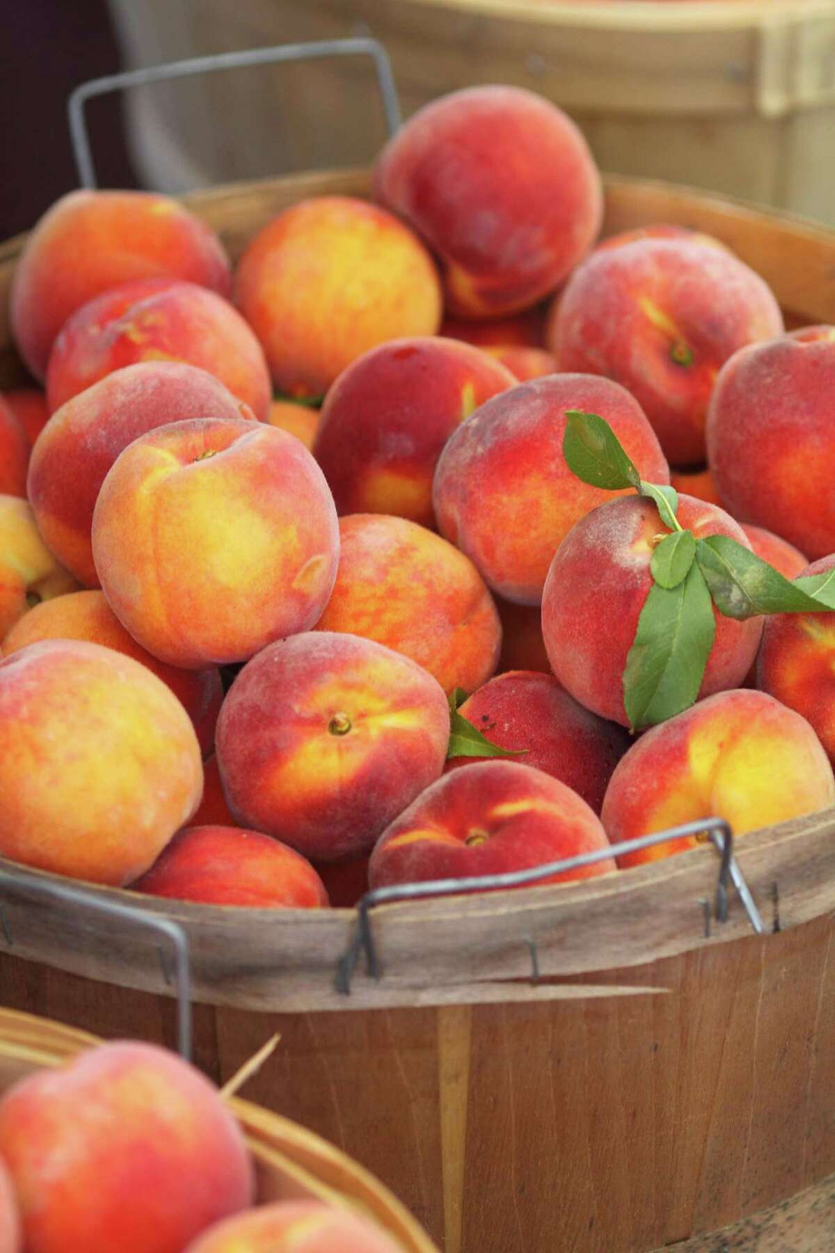 Summer peaches are great for popsicles.