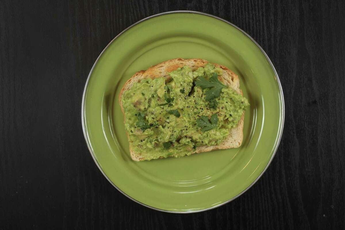 """""""The Minimum Payment on Your Student Loans"""" is our most basic recipe for avocado toast."""