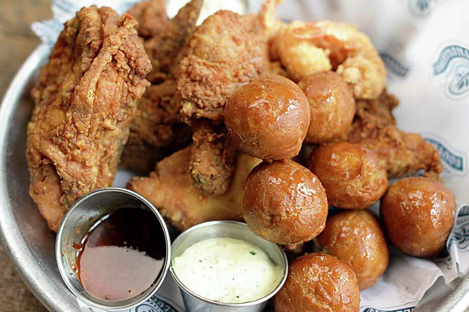 Fried chicken will be part of the menu at Southerleigh Bird & Biscuit, coming to The Rim in 2020. Photo: Southerleigh Bird & Biscuit