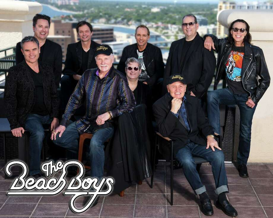 The Beach Boys will perform on Aug. 18 at 7 p.m. at the Ridgefield Playhouse, 80 East Ridge Road, Ridgefield. Tickets are $130. For more information, visit ridgefieldplayhouse.org. Photo: Ridgefield Playhouse / Contributed Photo