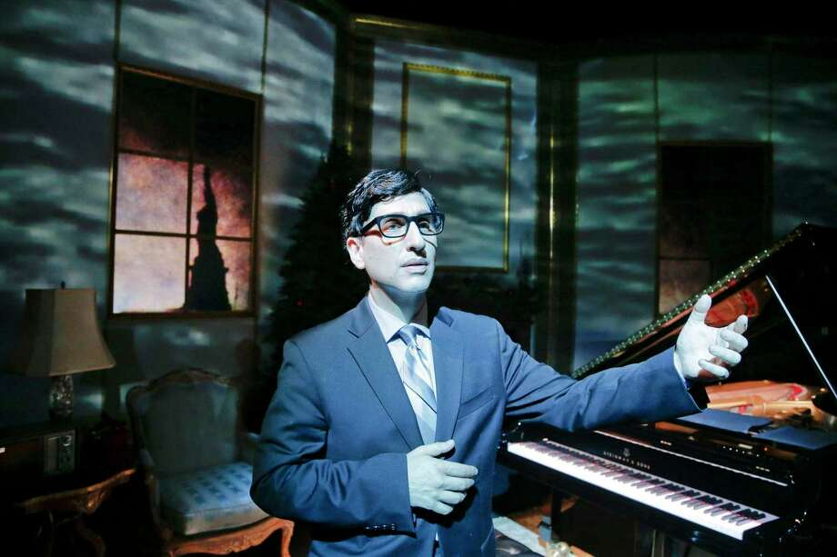 Hershey Felder as Irving Berlin runs through Aug. 23 at the Westport Country Playhouse, 25 Powers Court, Westport. Tickets are $30. For more information, visit westportplayhouse.org. Photo: Westport Country Playhouse / Contributed Photo