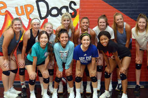 Members of the 2019 Plainview High School volleyball team include, from left, in front, Hannah Rodriguez, Aaliyah Rogers, Emily Sigala and Inesha Nash; in back, Emily Hendon, Saige Brunson, Haley Curtis, Lexie Bennett, Aspin Miller, Avery Moudy, Caroline Northcutt and Adri Martin.
