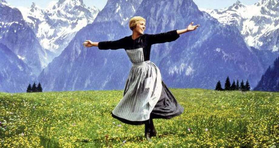 "Julie Andrews starred in ""The Sound of Music"" in 1965. Photo: Robert Wise Productions / Contributed Photo"