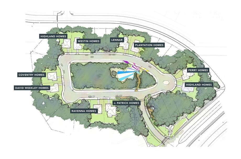 A model home village with 10 homes will open in Artavia this summer. Photo: Airia Development