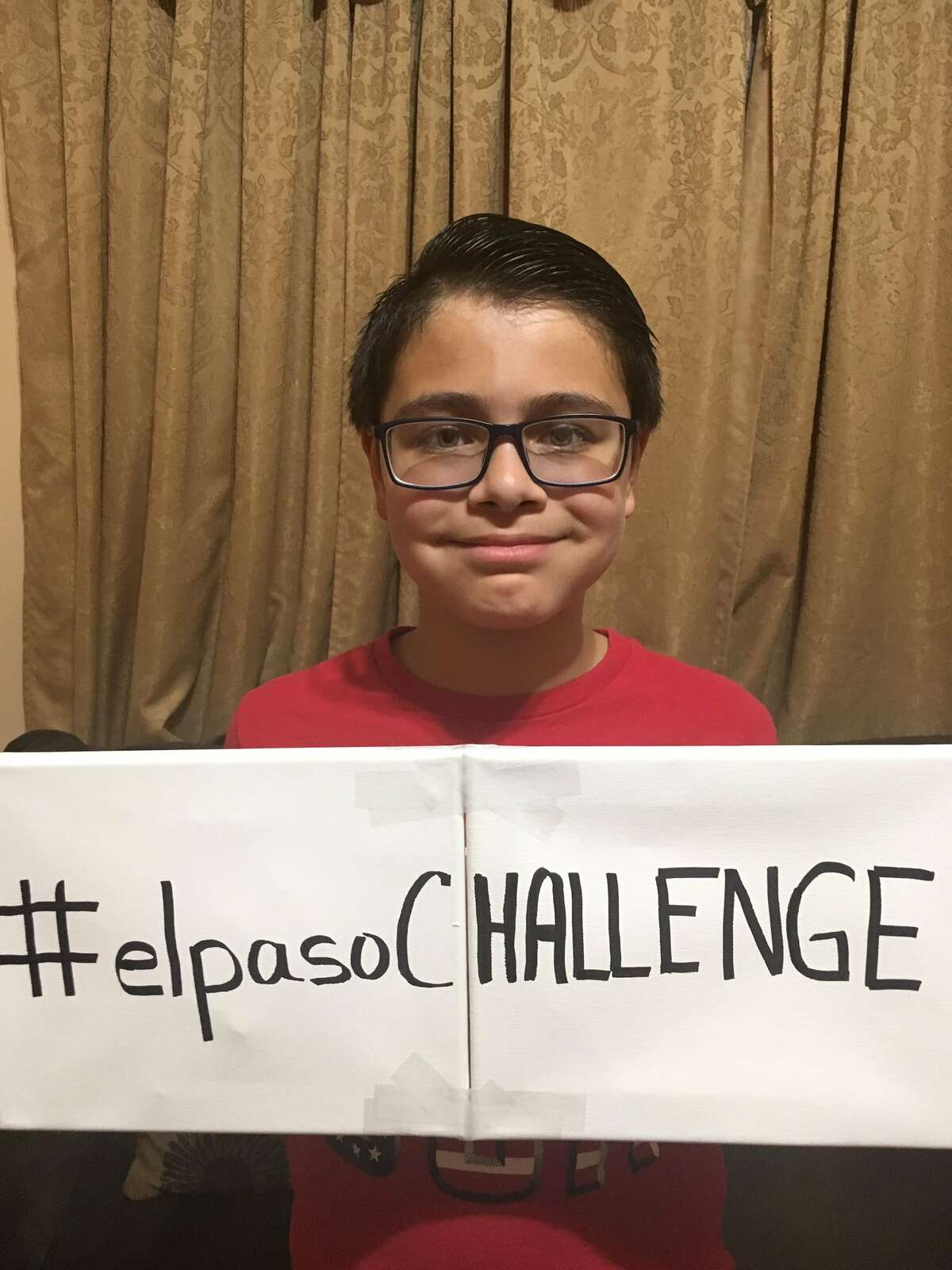 11-year-old Ruben Martinez came-up with #elpasoCHALLENGE to honor the victims of the city's mass shooting.