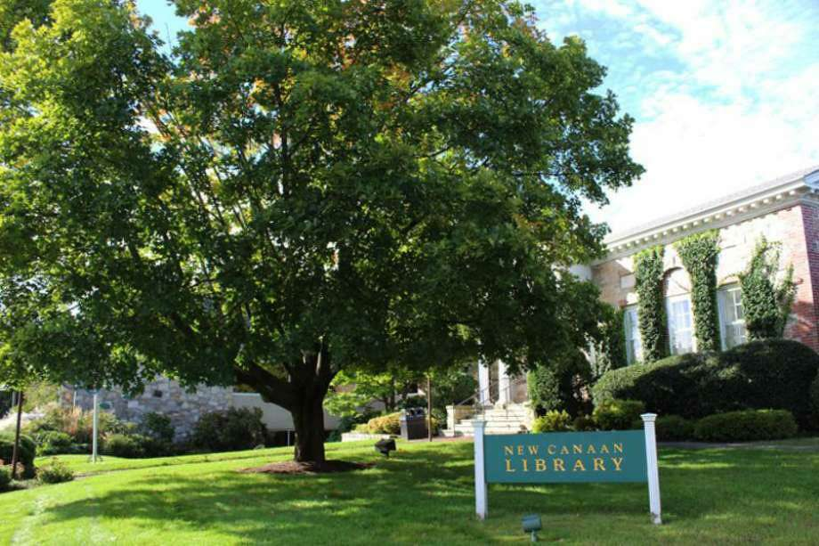 The New Canaan Library, along with Darien's Ridgefield's, Westport's, and Weston's, is beginning the self-service pickups of books, and other materials on June 15, 2020, after closing because of the coronavirus pandemic. Photo: File Photo / Hearst Connecticut Media / Connecticut Post