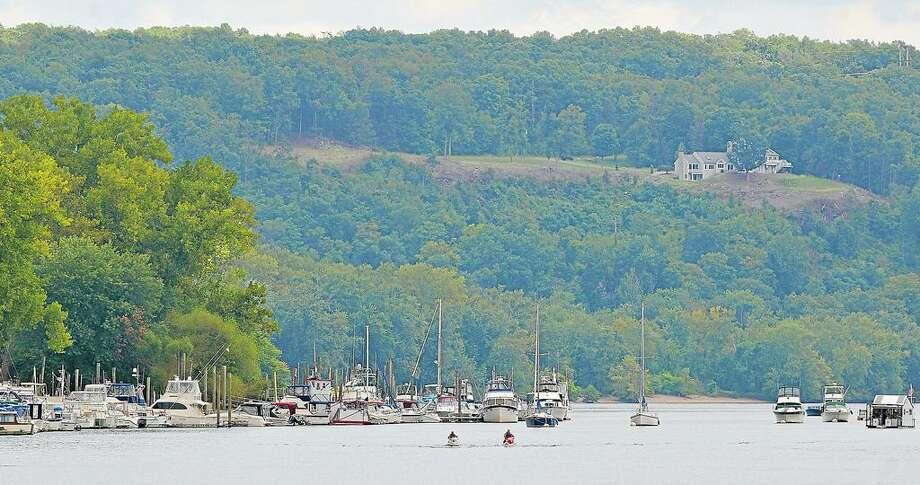 The Connecticut River, Portland. Photo: Catherine Avalone / Hearst Connecticut Media File Photo / TheMiddletownPress