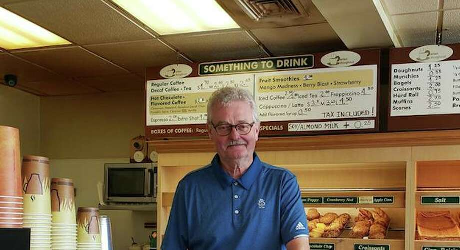 Bill Tamme, owner of Darien Doughnut, closed his store on Aug. 25. Photo: Sandra Diamond Fox / Hearst Connecticut Media / Connecticut Post