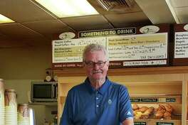 Bill Tamme, owner of Darien Doughnut, closed his store on Aug. 25.