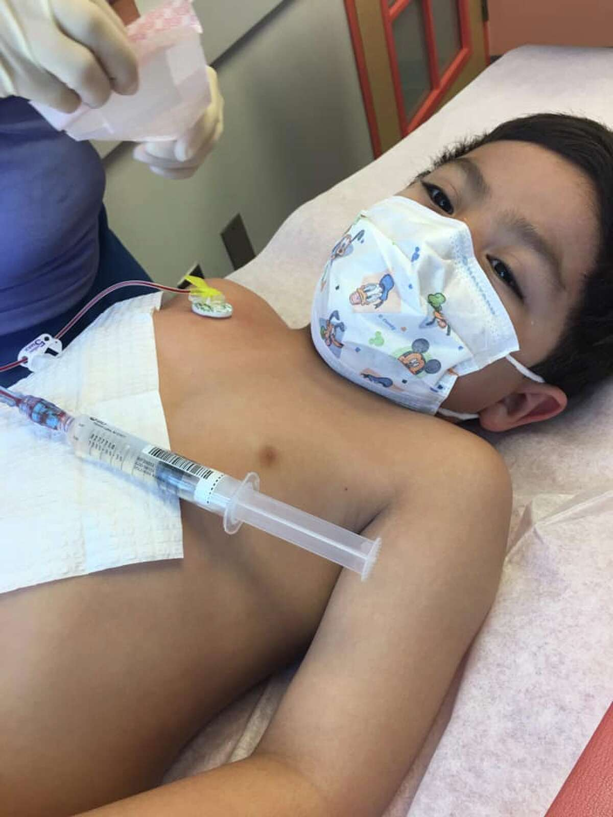 Ethan Perez was diagnosed with acute lymphoblastic leukemi, also known as ALL, two years ago.