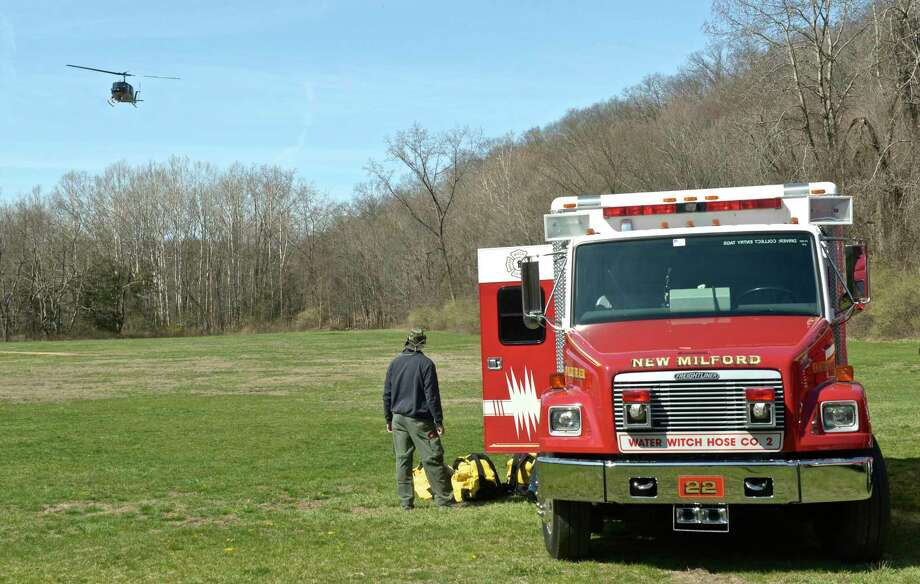 File photo of a Water Witch Hose Co. 2 fire truck on Saturday, April 16, 2016, in New Milford, Conn. Photo: H John Voorhees III / Hearst Connecticut Media / The News-Times