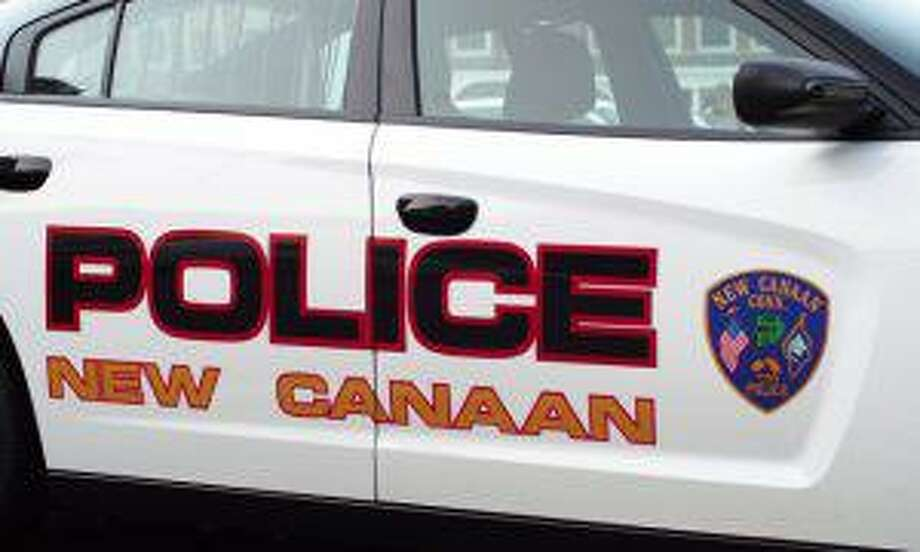 Pictured is what part of one side of a New Canaan Police car looks like. Photo: Contributed photo Photo: Contributed Photo