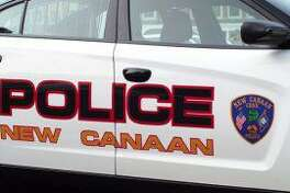 Pictured is what part of one side of a New Canaan Police car looks like. Photo: Contributed photo