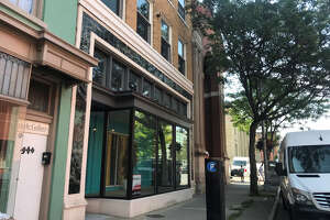 The outside of 48 Fourth Street in Troy as seen on Aug. 6, 2019. Columbia Development founder Joseph Nicolla and local technology entrepreneur Daniel Pickett III have submitted a request for $220,588 in property tax breaks in connection with a health business that would be located there.