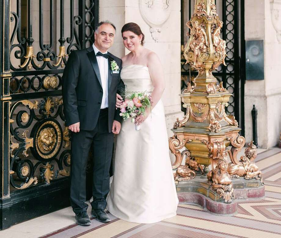 Leila Malekzadeh of New Canaan and Ali (Payam) Deylami of Issy-les-Moulineaux, France, were married on June 22, 2019, in Paris. Photo: Celine.Chhuon Photo: CELINE.CHHUON / CELINE.CHHUON