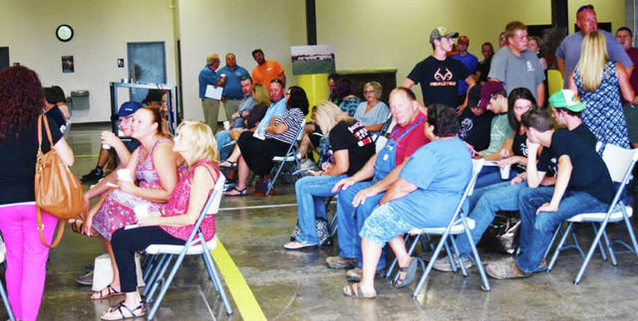 Illinois Laborers' and Contractor's hosted around 65 people at the program's open house on Monday. Photo: Tyler Pletsch | Hearst Illinois