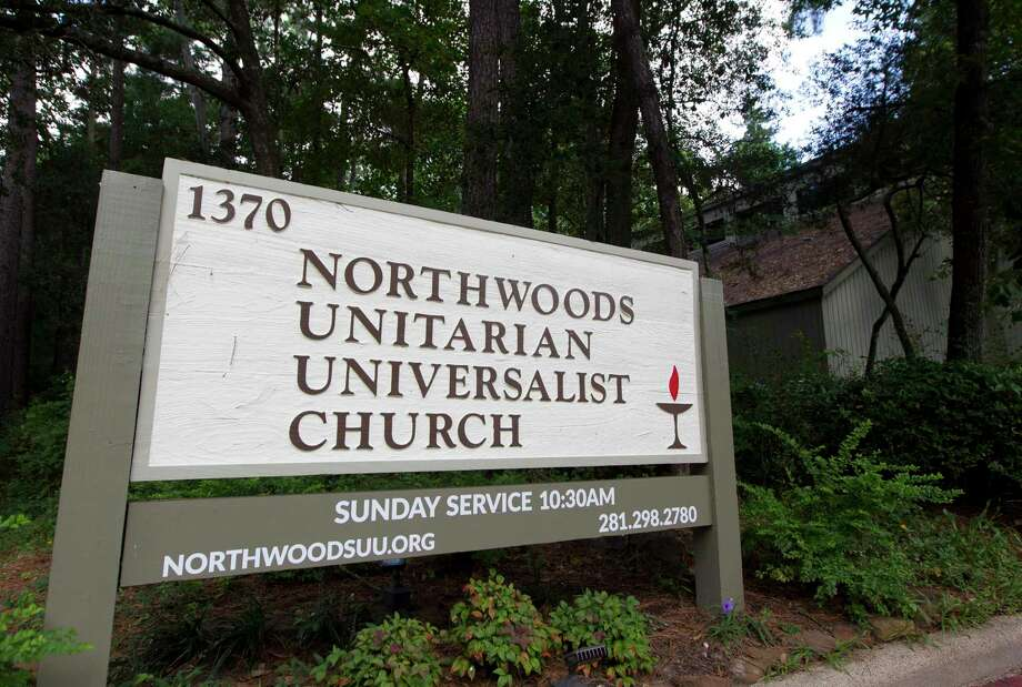 Church leaders at Northwoods Unitarian Universalist Church of The Woodlands announced the non-profit would become a sanctuary church, joining some eight hundred churches across the United States that designates itself as a place of refuge for undocumented immigrants seeking to gain legal status in this country, during a press conference Tuesday, Aug. 6, 2019, in The Woodlands. Photo: Jason Fochtman, Houston Chronicle / Staff Photographer / Houston Chronicle
