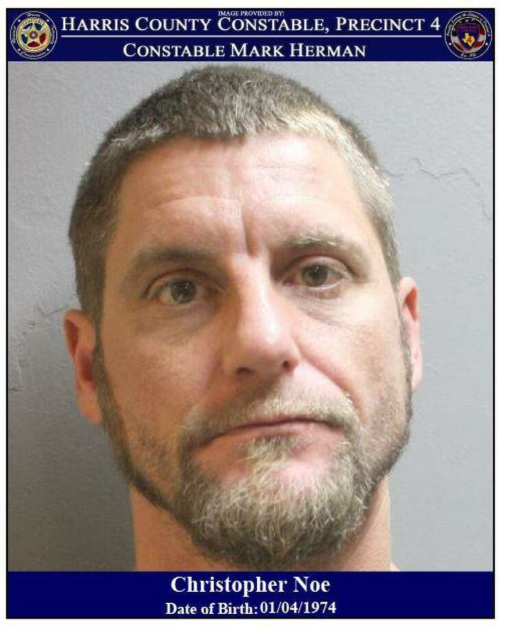 Christopher Noe is wanted by deputies with Harris County Precinct 4 Constable Mark Herman's office in connection with an illegal dumping case in west Harris County. Photo: Harris County Precinct 4 Constable's Office