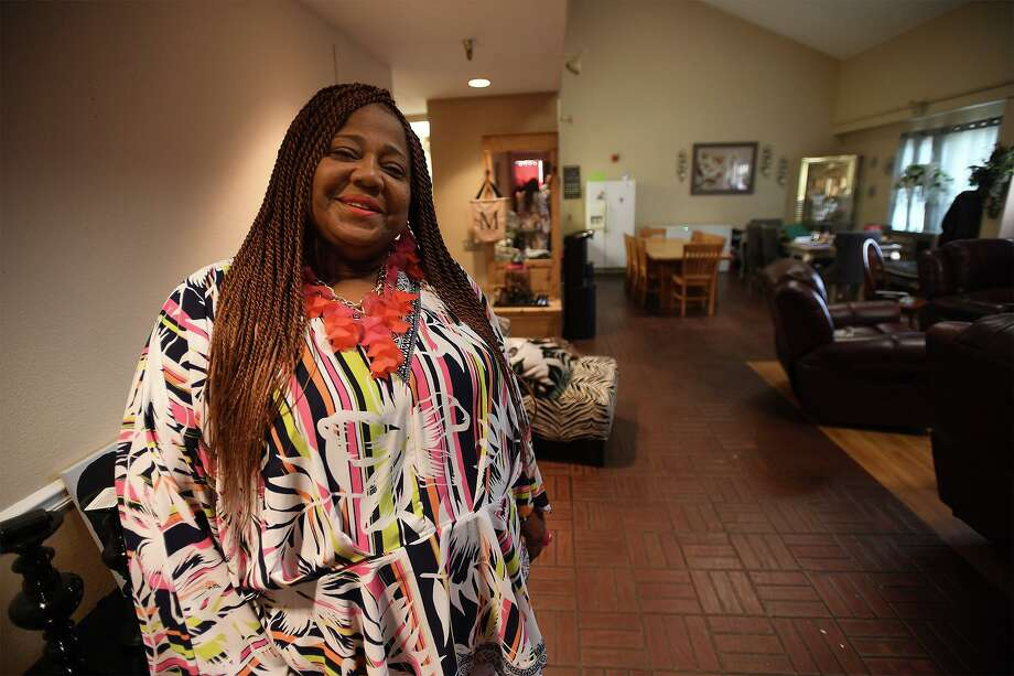 Monica Garrett has cared for about 100 children in her more than 20 year career with the Bucker foster care program. Garrett is pictured at her Bucker home on Monday. Photo taken Monday, 8/5/19 Photo: Guiseppe Barranco/The Enterprise, Photo Editor / Guiseppe Barranco ©