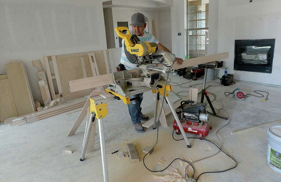 The Fed's efforts are showing up in recent housing data, including the latest construction spending report, with activity continuing to perk up after several sluggish quarters. Kim Brent/The Enterprise Photo: Kim Brent / The Enterprise / BEN