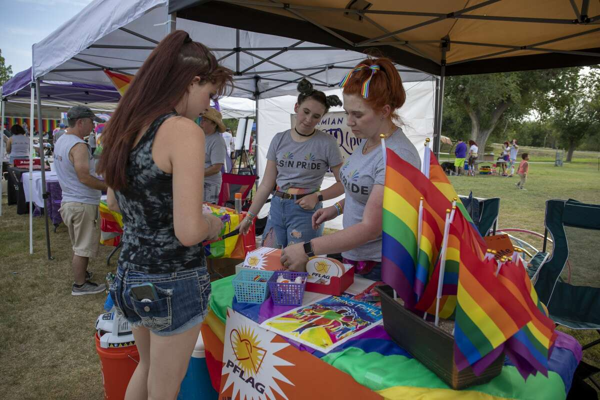 The first Basin Pride was Friday, Aug. 2, 2019 at McKinney Park in Odessa.