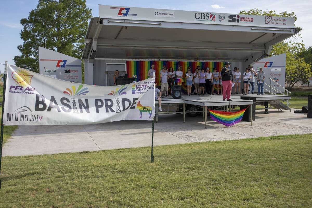 File photo: The first Basin Pride was Friday, Aug. 2, 2019 at McKinney Park in Odessa.