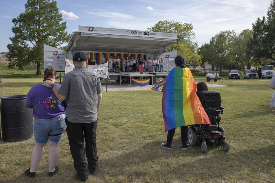 The first Basin Pride was Friday, Aug. 2, 2019 at McKinney Park in Odessa. Photo: Jacy Lewis/191 News