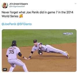 After Giants cut Joe Panik, fans remember second baseman's
