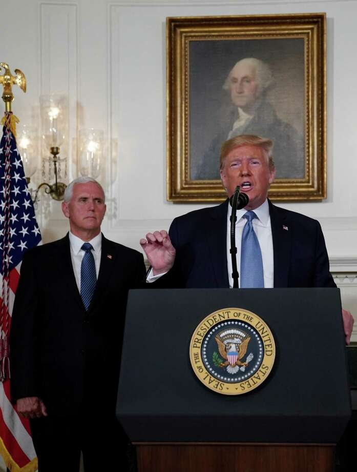 If Senate Republicans did move forward with impeachment of President Donald Trump, Vice President Mike Pence would ascend to the presidency. He  reflects the Republican worldview. Photo: Alex Wong /Getty Images / 2019 Getty Images