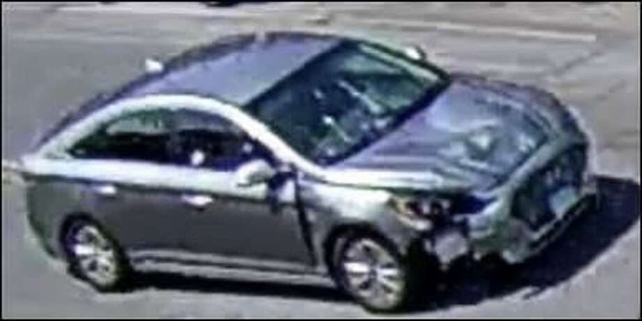 Hartford police are trying to identify the driver of this car, whostruck and killed 55-year-old Sharlene Mansfield on Monday. Photo: Contributed Photo / Hartford Police Department