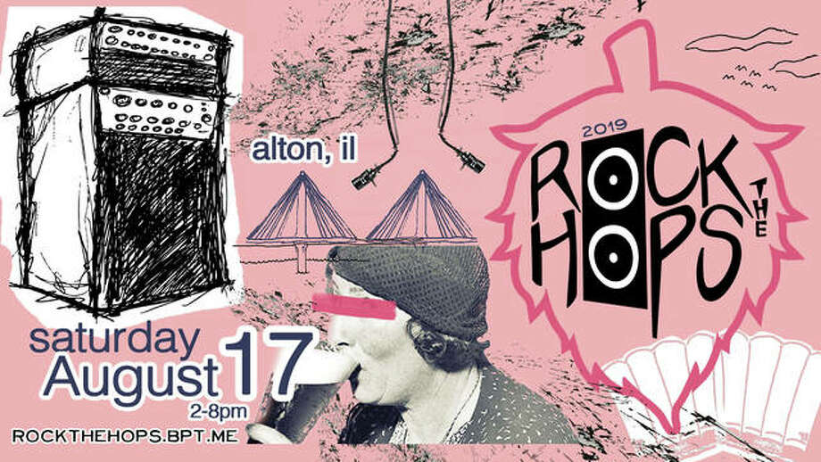 A flyer for the fifth annual Rock The Hops. The festival in downtown Alton has sold out in its first four years. Photo: For The Telegraph