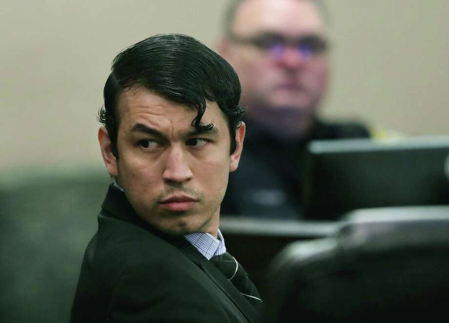 The retrial of Miguel Martinez, accused of killing Laura Carter, in 437th state District Court at the Cadena-Reeves Justice Center on Tuesday, Aug. 6, 2019. Photo: Bob Owen / Staff Photographer / ©2019 San Antonio Express-News