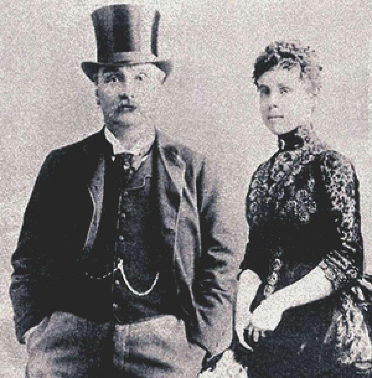 James and Florence Maybrick.