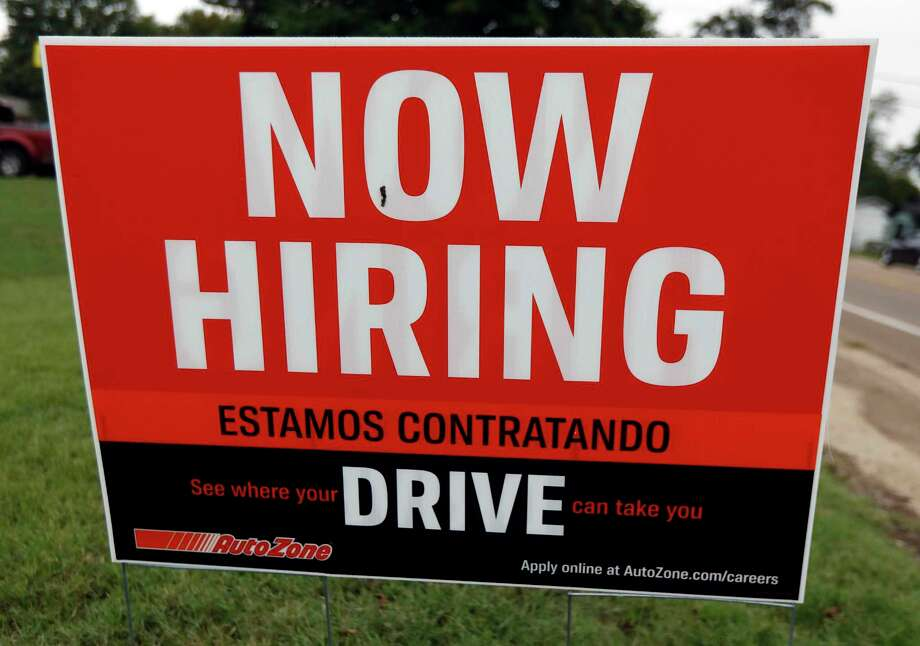 The Texas unemployment rate held at a record low 3.4 percent in November, the Texas Workforce Commission reported. Photo: Rogelio V. Solis, STF / Associated Press / Copyright {2018} The Associated Press. All rights reserved