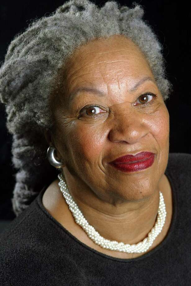 "Author Toni Morrison poses for a portrait for her book entitled ""Love"" in Midtown Manhattan on August 29, 2002 in New York City. The Pulitzer and Nobel prize winning author died Monday, Aug. 5, 2019, at 88. Photo: Todd Plitt, Contributor / Getty Images / 2002 Getty Images 2002 Getty Images"