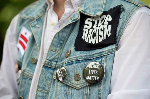 Protesters at White House condemn hate, gun violence, white