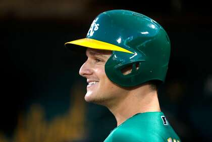 purchase cheap 4fc59 53bf0 A's Matt Chapman to honor late friend with Players' Weekend ...