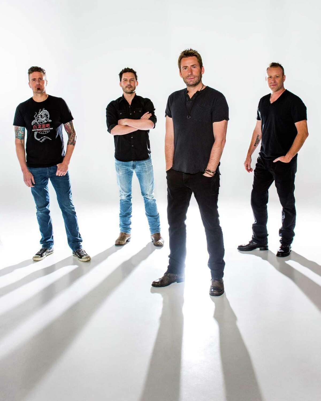 Nickelback plays Mohegan Sun Arena on Aug. 22.