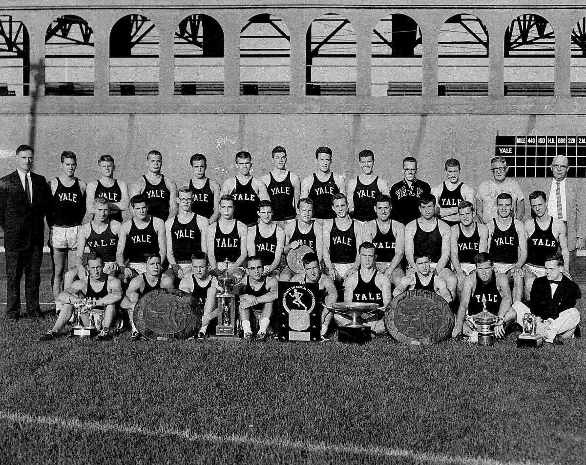 George Green and the 1959-60 Yale track team.