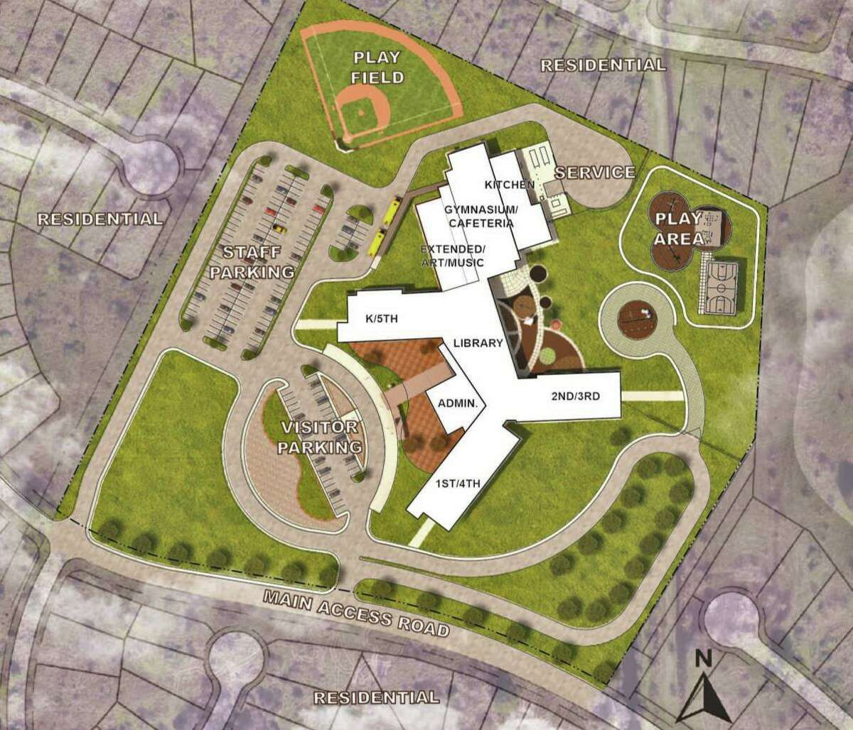 The school will have a 1,000-student capacity and will alleviate potential overcrowding classroom at Palmer Elementary School, Fort Bend ISD officials said.