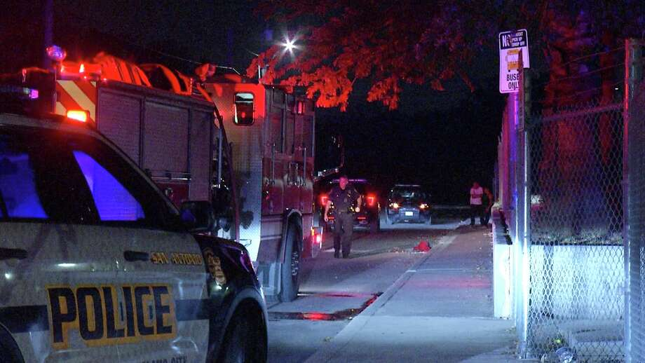 A man in his 30's was arrested overnight after he allegedly ignited a line of fires on the city's West Side, San Antonio police said. Photo: Ken Branca