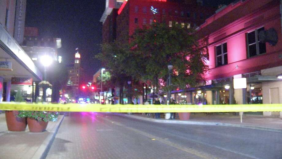 A male bicyclist in his late 20s was hospitalized following a hit-and-run in downtown San Antonio, officials said. Photo: Ken Branca